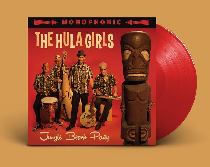 """The Hula Girls """"Jungle Beach Party"""" LP (Red)"""