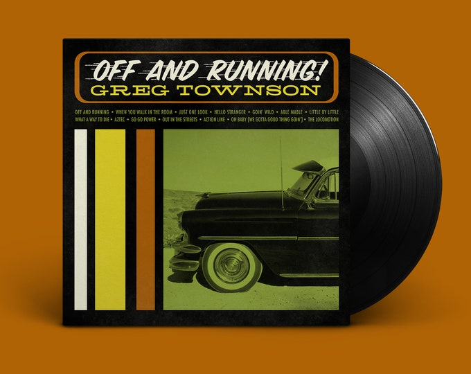 """Greg Townson """"Off and Running"""" LP"""