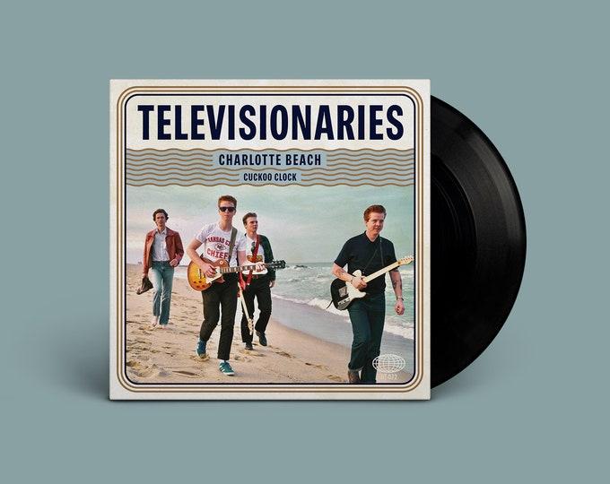 "Televisionaries ""Charlotte Beach / Cuckoo Clock"" Single"