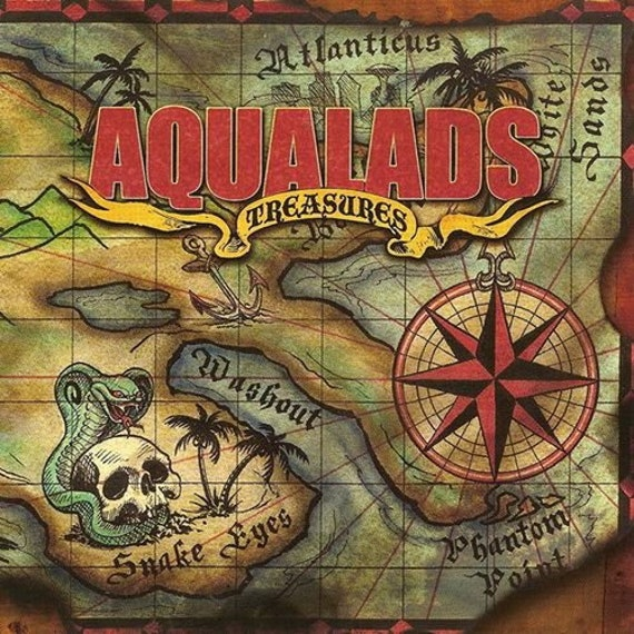 "Aqualads ""Treasures"" CD"