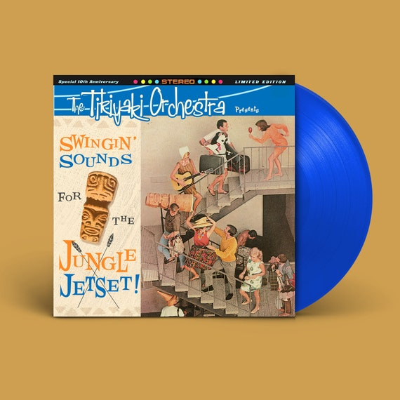 "The Tikiyaki Orchestra ""Swingin' Sounds for the Jungle Jetset!"" 10-Year Anniversary LP"