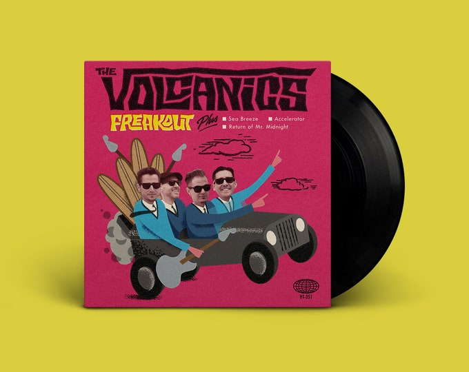 """The Volcanics """"Freakout"""" EP"""