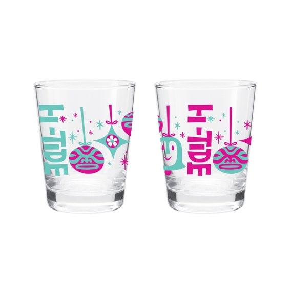 """Hi-Tide """"Shiny Brite"""" Holiday Mai Tai Glass"""