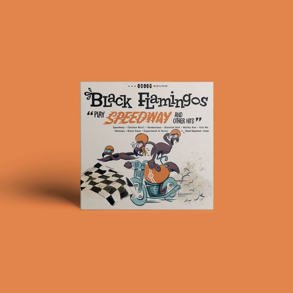 """Black Flamingos """"Play Speedway and Other Hits"""" CD"""