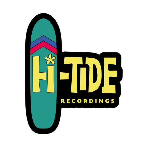 Hi-Tide Recordings Enamel Lapel Pin