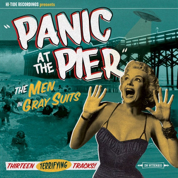 """The Men In Gray Suits """"Panic at the Pier"""" CD"""