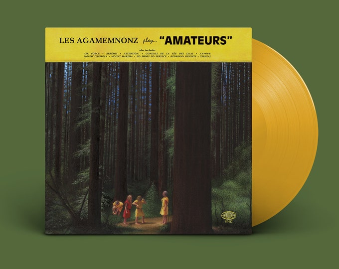 """Les Agamemnonz """"Amateurs"""" LP (Yellow)"""