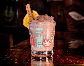 "Hi-Tide ""Shiny Brite"" Holiday Cocktail Glass Set"