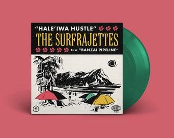 "The Surfrajettes ""Hale'iwa Hustle b/w Banzai Pipeline"" Single (Green)"