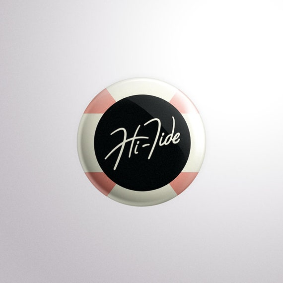 Hi-Tide Recordings Classic Logo Pin