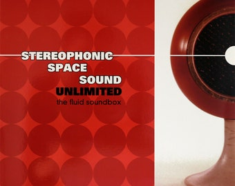 """Stereophonic Space Sound Unlimited """"The Fluid Soundbox"""" LP (Red)"""