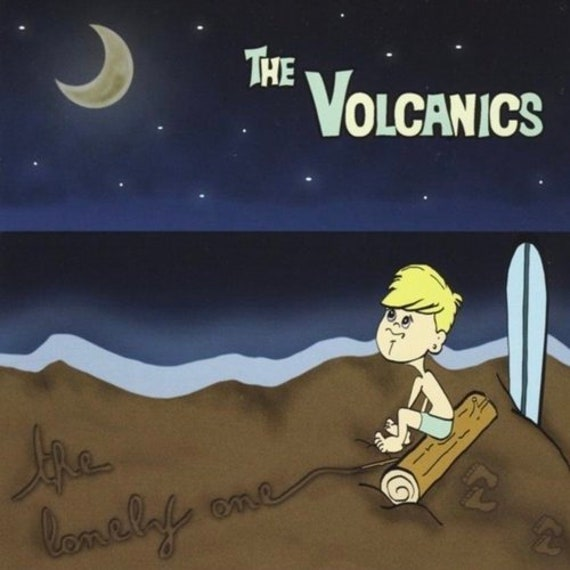 """The Volcanics """"The Lonely One"""" CD"""