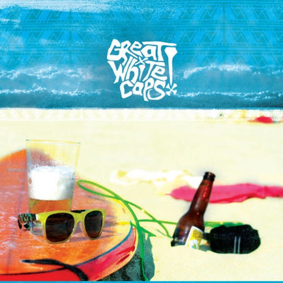 "Great White Caps ""Screech Beach!"" LP"
