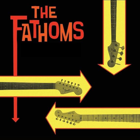 """The Fathoms """"Fathomless"""" CD (2017 Reissue)"""