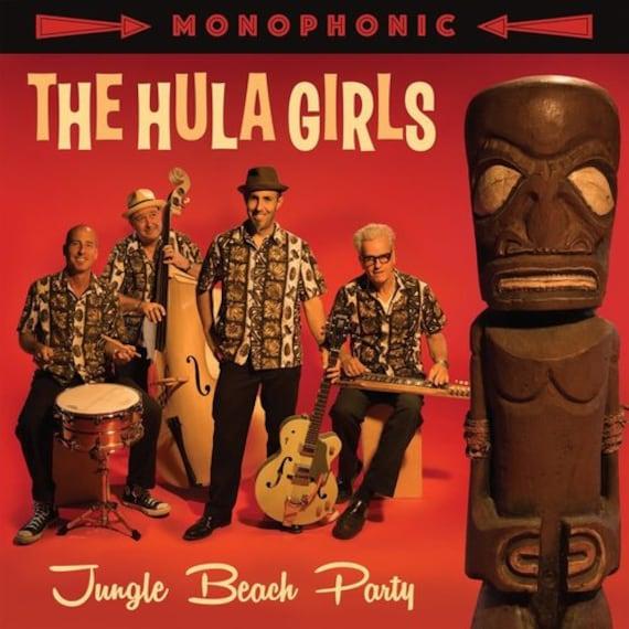 "The Hula Girls ""Jungle Beach Party"" CD/LP"