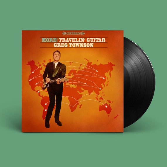 "Greg Townson ""More! Travelin' Guitar"" LP"