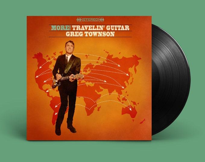 "Greg Townson ""More! Travelin' Guitar"" LP"