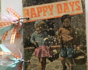 Happy Days Vintage Junk Journal