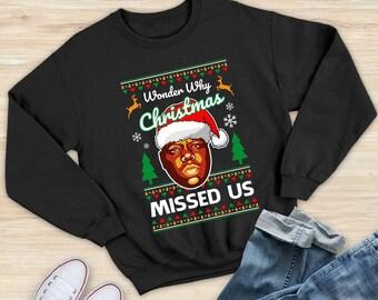 Christmas Missed Us Etsy