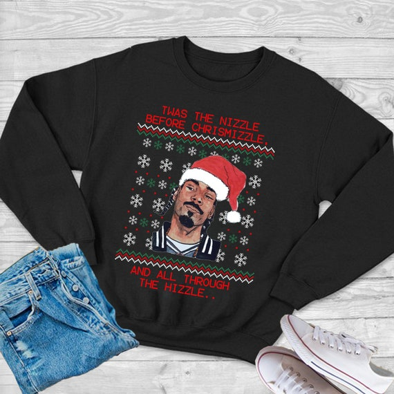 Snoop Dogg Christmas.Snoop Dogg Christmas Santa Sweatshirts Unisex Heavy Blend Crewneck Snoop Dogg Christmas Sweater