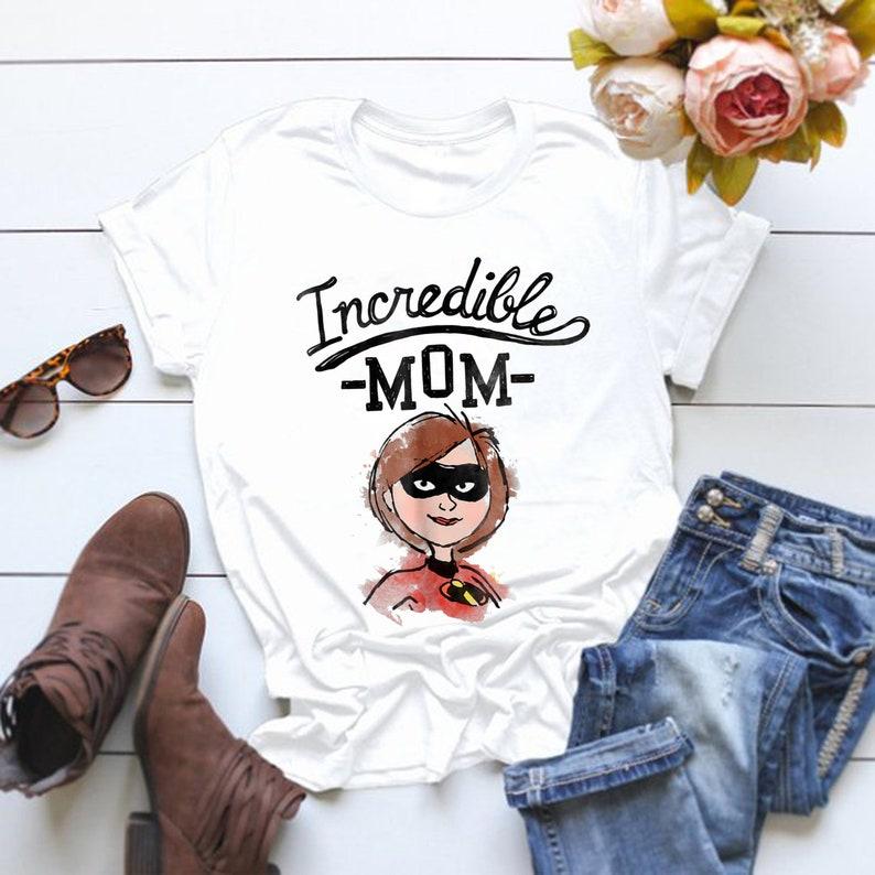 6cebc0892 Disney Pixar Incredibles 2 Super Mom Sketch Graphic T-Shirt | Etsy