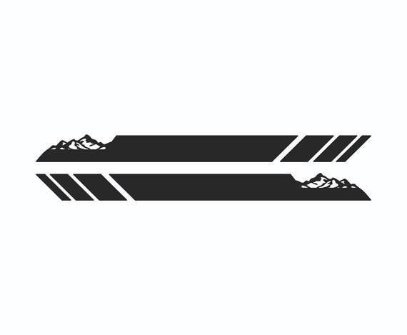 Ford Raptor Svt F F150 Decal Sticker Stripe Mountain 2018 2017 Etsy