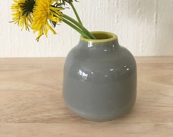 Small Porcelain Bud Vase