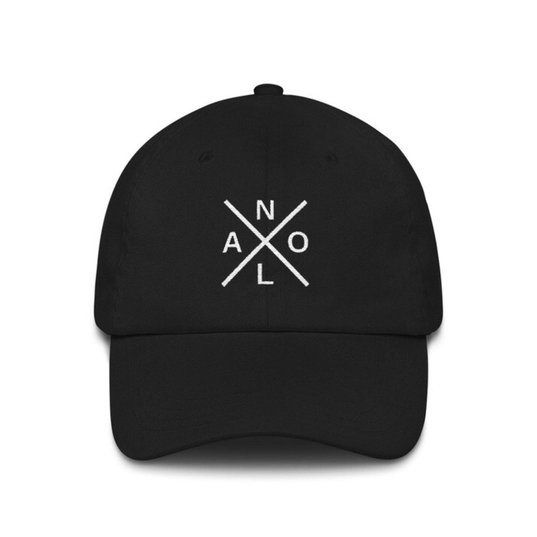 b41860426b3089 New Orleans Hat NOLA Cross Hat | Etsy