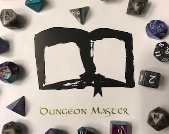 Dungeons and Dragons Decal - Dungeon Master