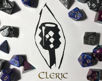 Dungeons and Dragons Decal - Cleric