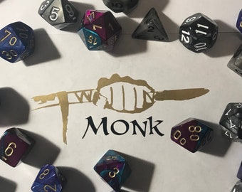 Dungeons and Dragons Decal - Monk