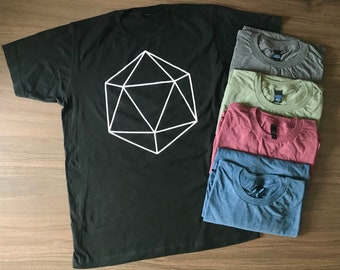 Dungeons and Dragons D20 T-Shirt