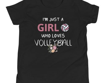 Volleyball shirt sayings gift for teen girls and women