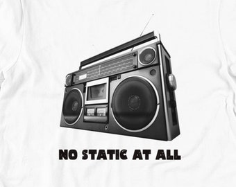 No Static at All - Steely Dan / FM T Shirts, Hoodies & Tank Tops for Men, Women, Kids. Festival Clothing, Vintage Band Tee, Rock and Roll