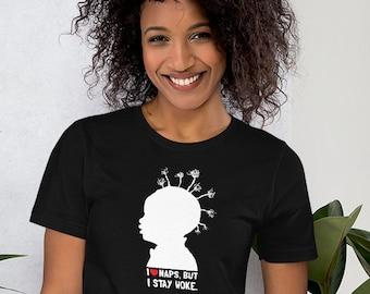 I LOVE Naps, But I Stay Woke - Black Lives Matter Unisex Bella + Canvas T Shirts Progressive, Stay Woke, BLM Ally, Resist