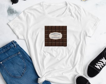 """There Is No """"We"""" in Chocolate - Candy Lovers Hoodies & Tank Tops for Men, Women, Kids, Gifts For Mom, Cook Shirts, Confectionary Gift, Baker"""