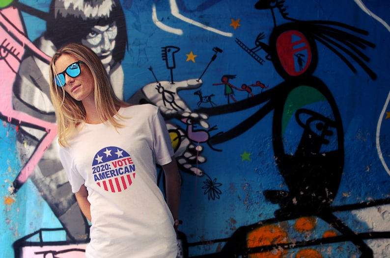 Elections 2020: Vote American T Shirts Hoodies & Tank Tops image 0