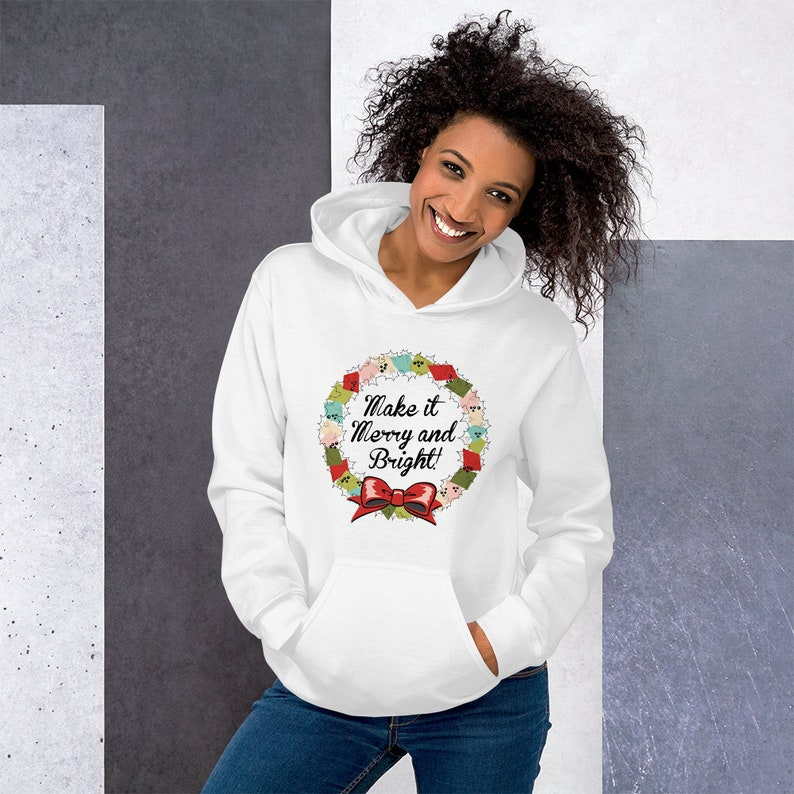Make It Merry And Bright Christmas Gift T Shirts Hoodies & image 0