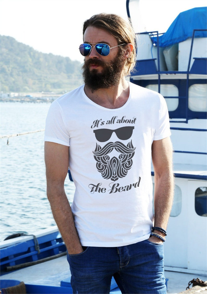 It's All about the Beard T Shirts Hoodies & Tank Tops for image 0