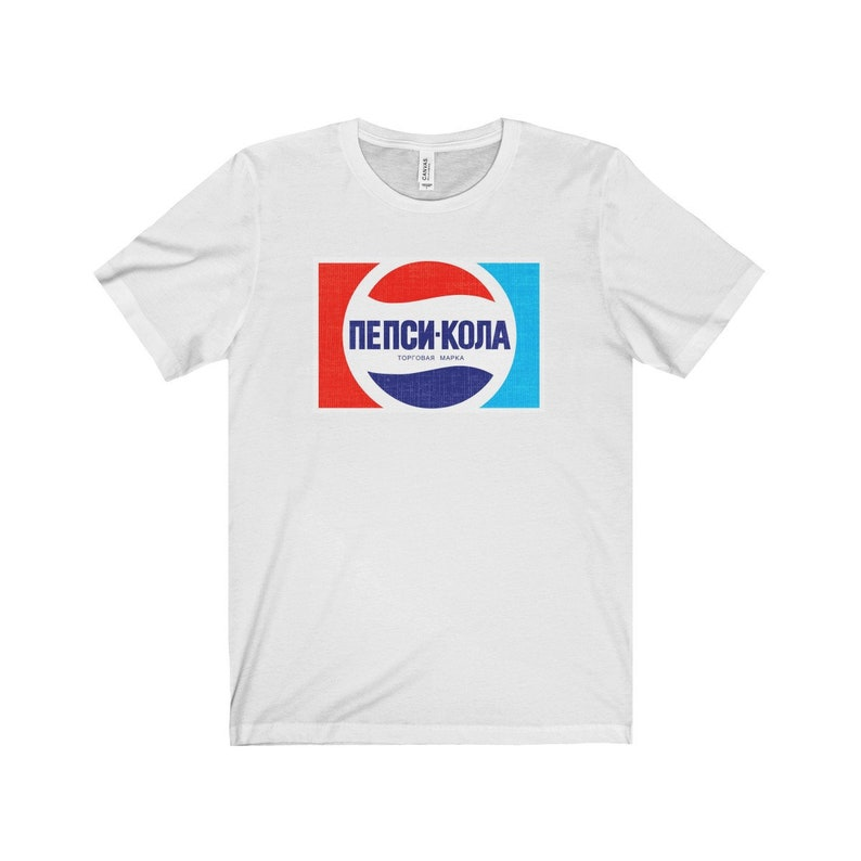 496d708a52ed2a Pepsi shirt Vintage 70s retro style Пепси-Кола Soviet