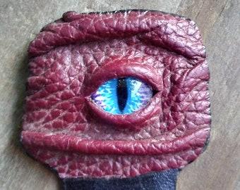 Eye-Eye Bookmark - red/blue