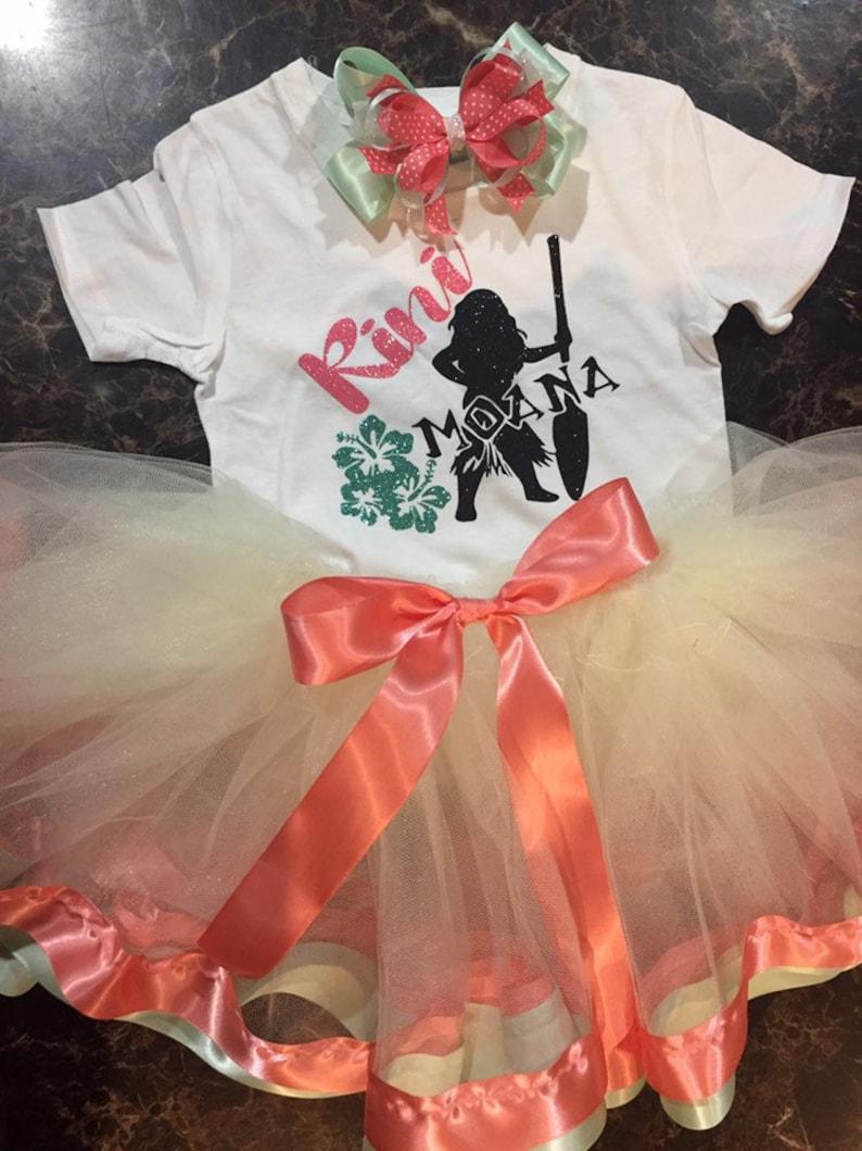 Moana  customized tutu outfit