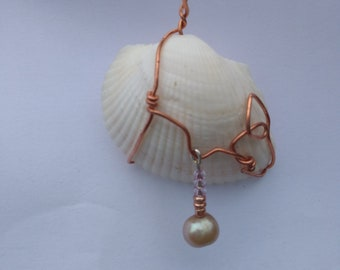 Copper wire wrapped shell