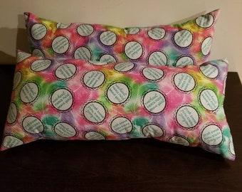 Rectangular shaped decorative pillows