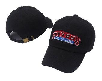 Black street of rage cap
