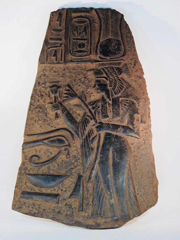 Rare antique ancient egyptian queen nefertari lotus flower etsy zoom izmirmasajfo