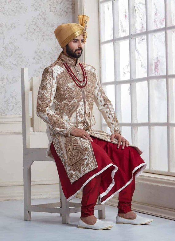 Custom Made Indian Wedding Sherwani