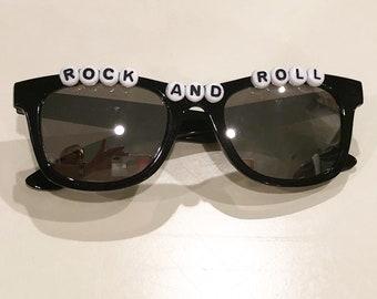 7eea42c540 rock and roll sunglasses kids sunglasses custom sunglasses toddler kids  boys babies birthday gift party favor summer big brother