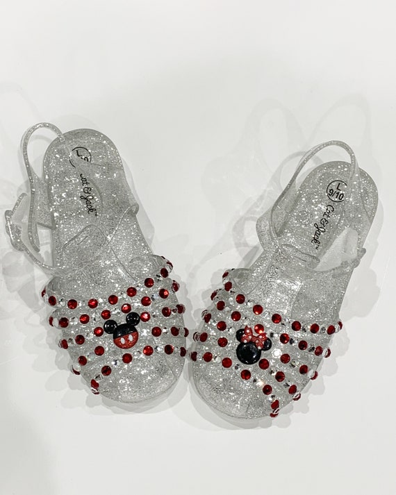 Mickey Mouse jelly shoes Minnie Mouse