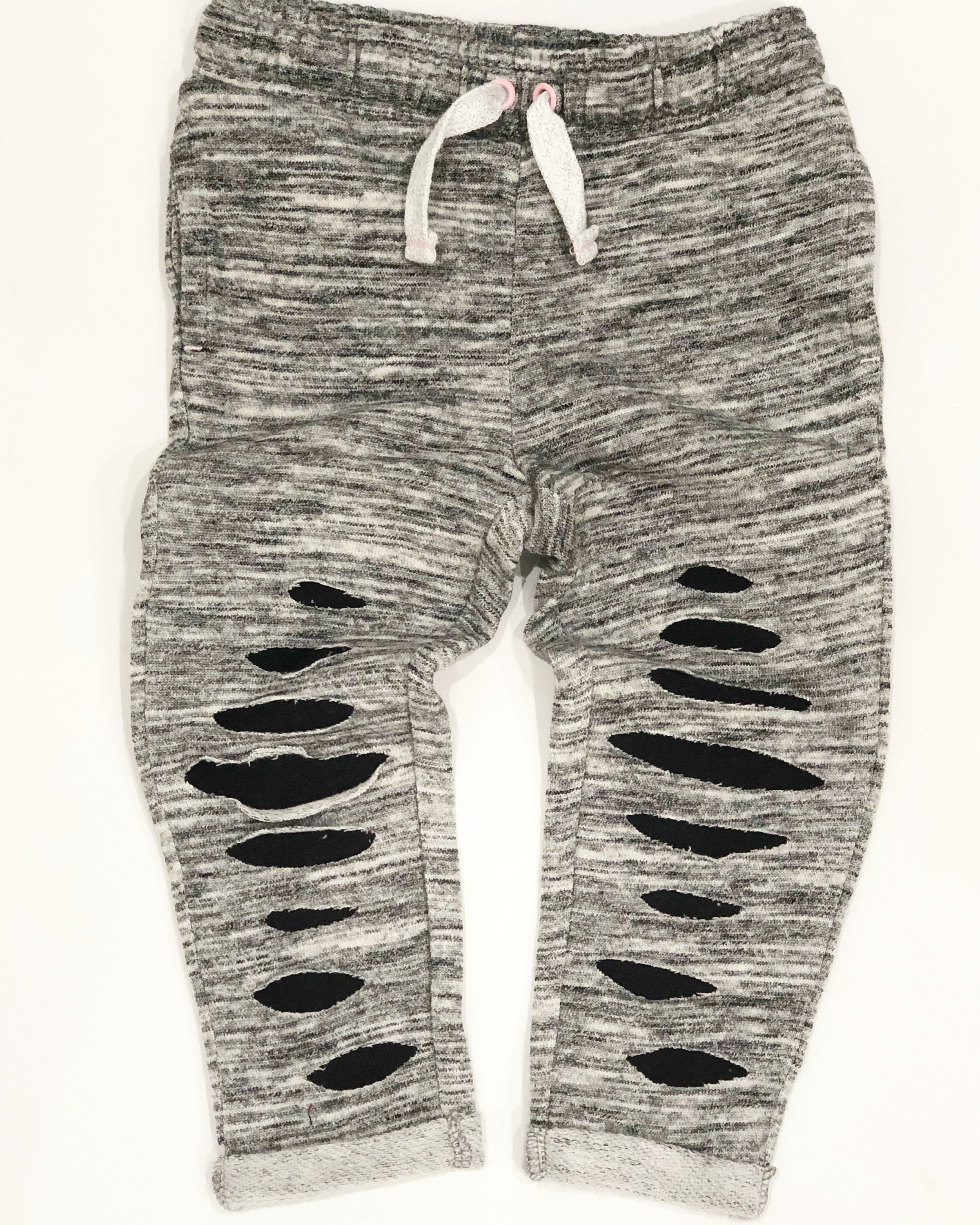 3d832785acc0c3 Ripped joggers grey joggers distressed joggers toddler joggers   Etsy